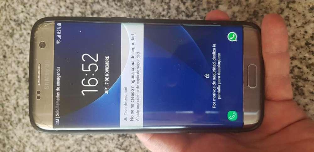 Samsung Galaxy S7 Edge desbloqueado con detalles
