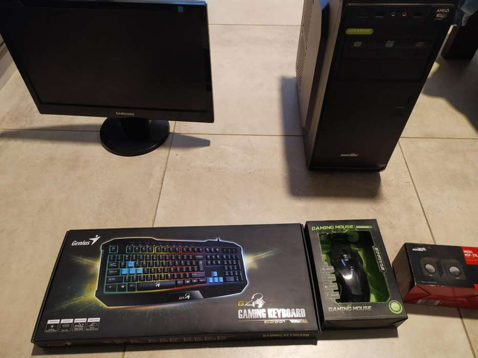 Kit Pc De Escritorio Gamer