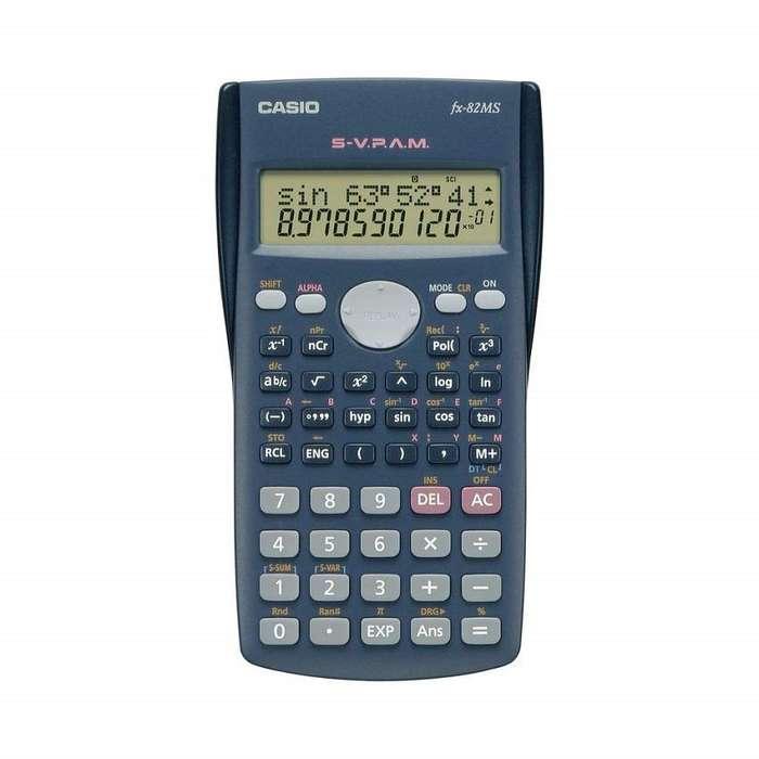 Calculadora Casio Original Fx82ms Cientifica 240 Funciones