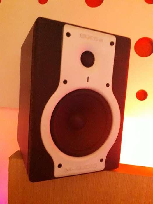 Monitores de Audio M Audio Bx5a Deluxe