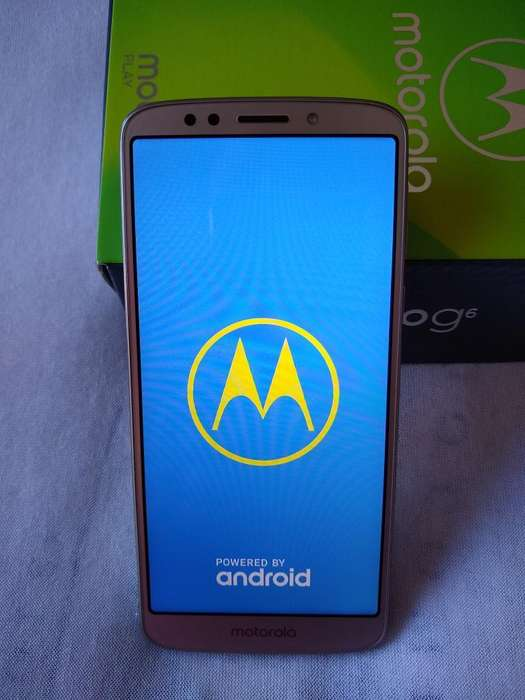 Vendo Moto G6 Play Impecable