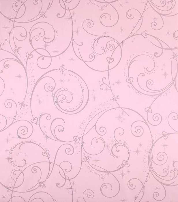 Papel Tapiz De Colgadura York Wallcoverings Disney Kids rosado
