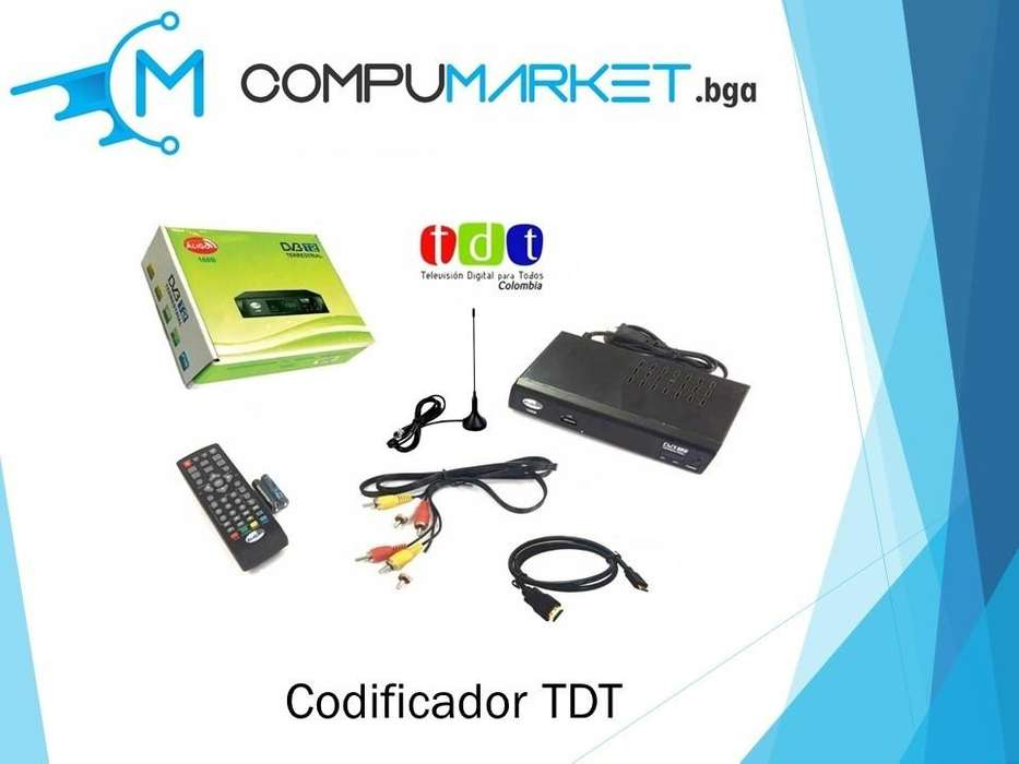 Codificador TDT nuevo y facturado
