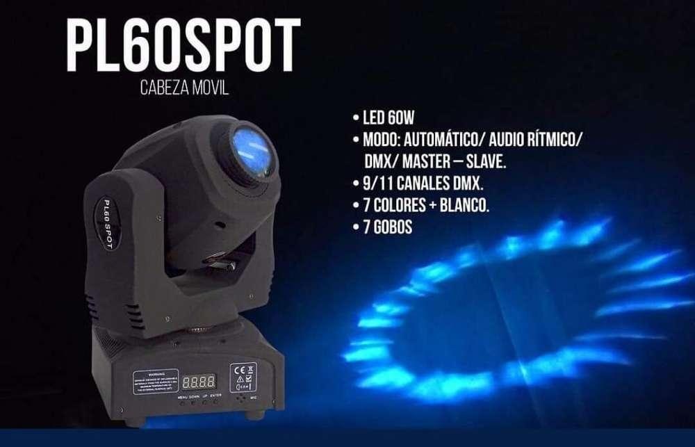 Cabezas Moviles Spot Pl60 Pro Dj
