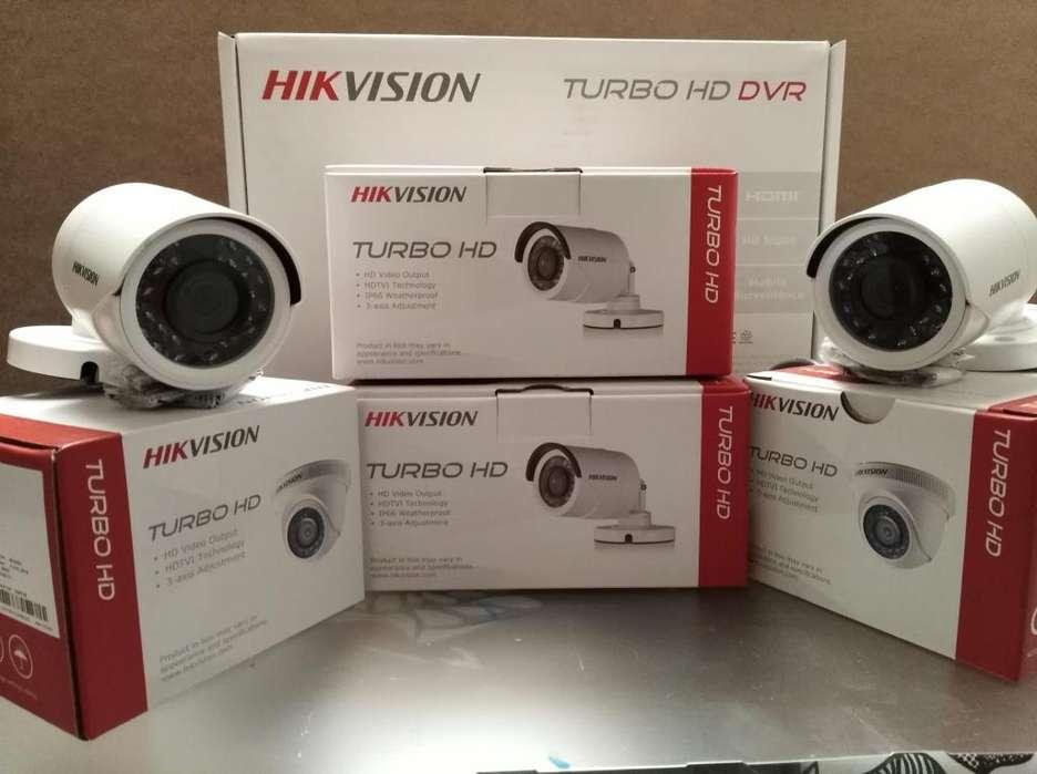 Kit camaras seguridad Hikvision