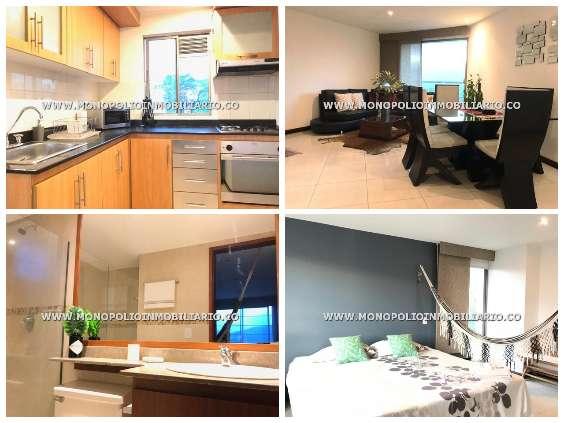 apartamentos amoblados en medellin cod:13018