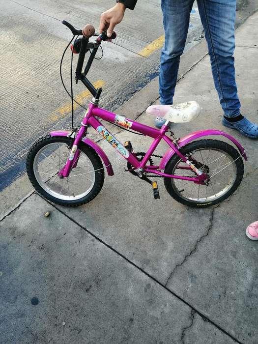 <strong>bicicleta</strong> para Niña Aro 16 en Perfectoe