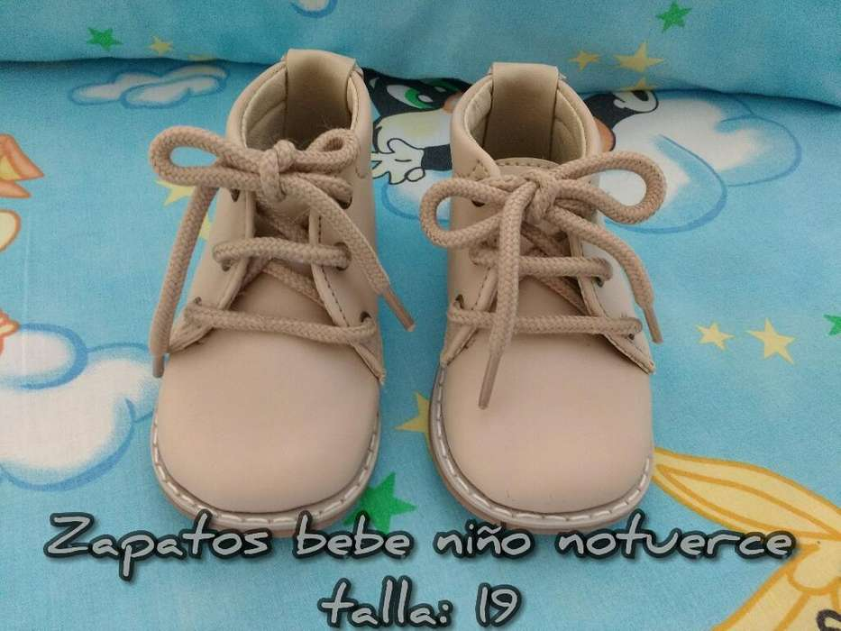 Zapatos Bebe Niño Notuerce Talla: 19
