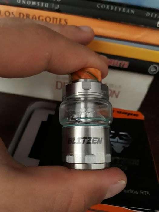Blitzen Atomizador Dual Coil 1mes de Uso