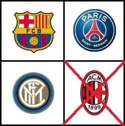 PRECIO X TODO!!!!!!! 3 camisetas de fútbol: Barcelona, Inter Eto'o y PSG