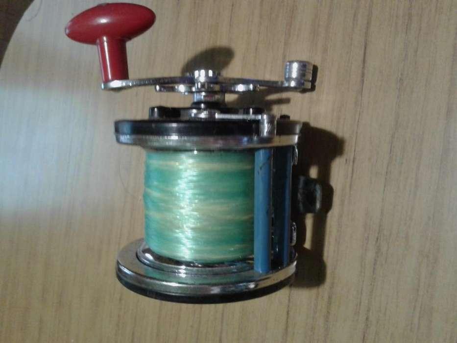 Reel Pescador 223 carretel metalico