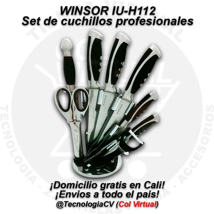 R0394 Set de cuchillos profesionales WINSOR IUH112 42110M5VP85