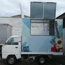 vehiculo daewoo food turck