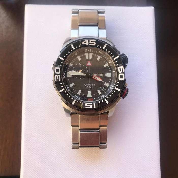 Vendo Reloj <strong>seiko</strong> Automatico 42mm Edicion Especial Carbon