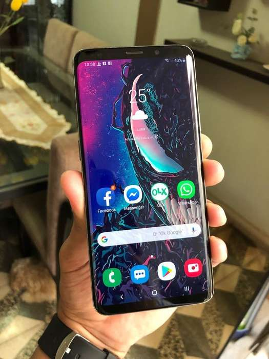 Samsung Galaxy S9 Plus 6gb 64gb 12mp 3500mah