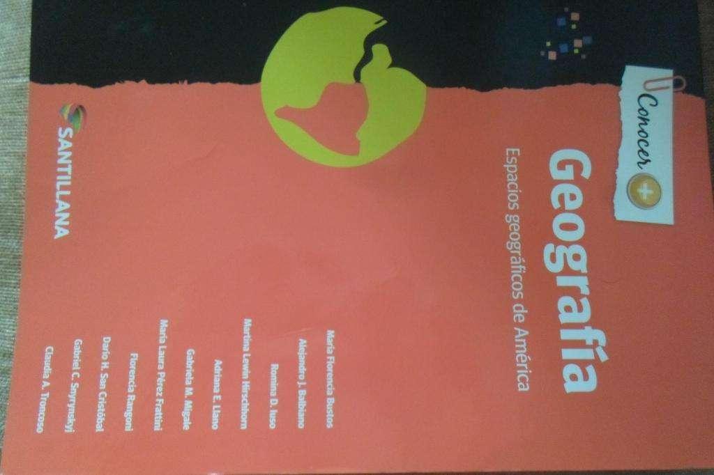 Libro de Geografia nuevo sin uso. Espacios geograficos de America