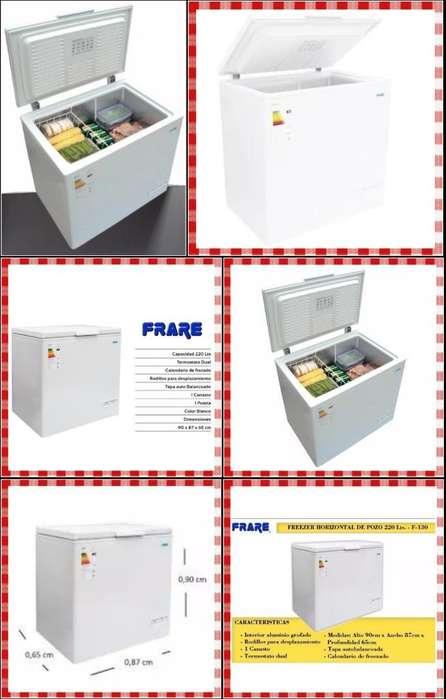 Freezer Marca Frare 220lts Sistema Dual