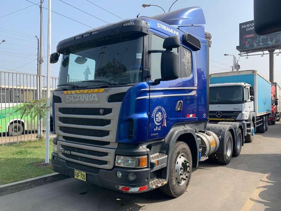 Oferta, Tracto Remolcador Scania G410 6X4 Año 2013