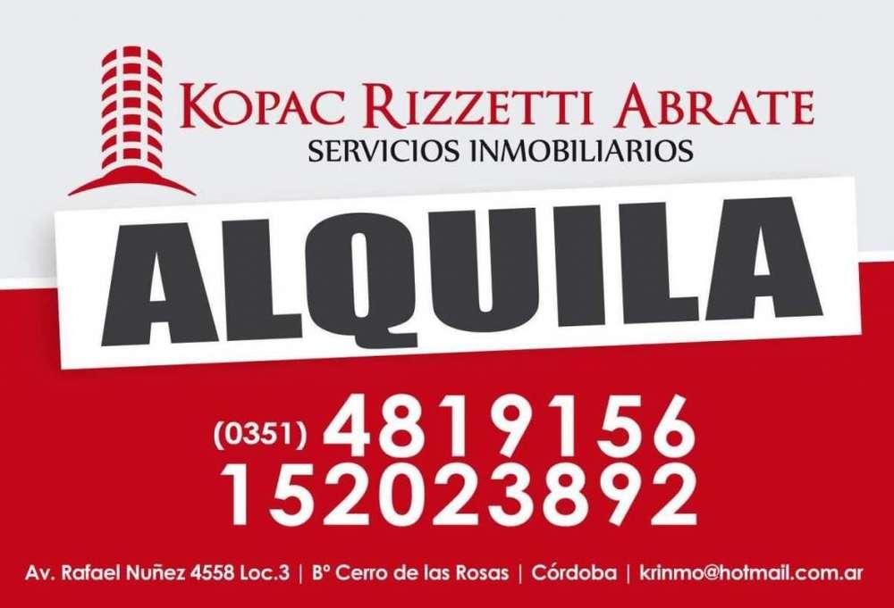 ARGÜELLO (HUASCAR 8200) - ALQUILER CASA 2 DORMITORIOS