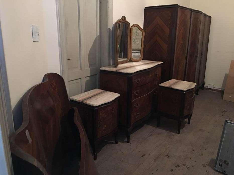 Juego <strong>dormitorio</strong> muebles antigos