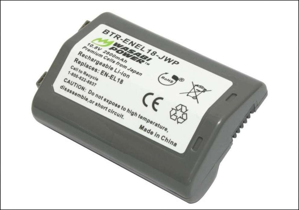 A64 Bateria En El18 Para Camara Nikon D4 D4s D5 D850