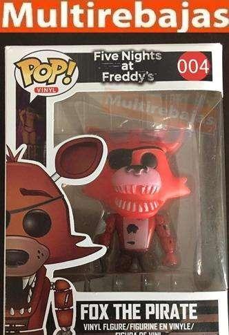 Muñeco Funko Pop Fox The Pirate