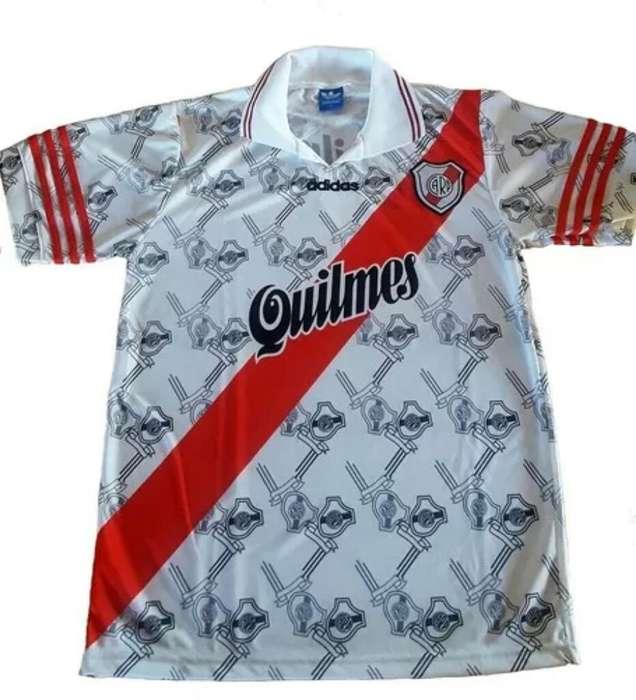 camiseta river plate 1996 retro