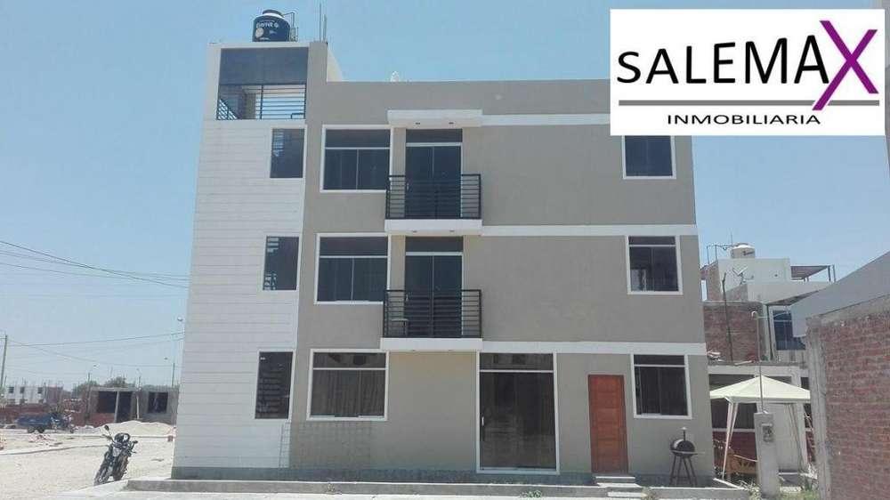 Departamento de Estreno en Venta –urb. Villa California Castilla