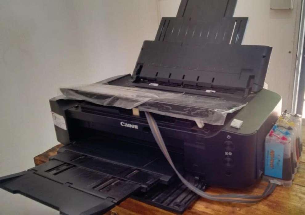 <strong>impresora</strong> FOTOGRAFICA CANON PIXMA 8710 CON SISTEMA CONTINUO TINTAS