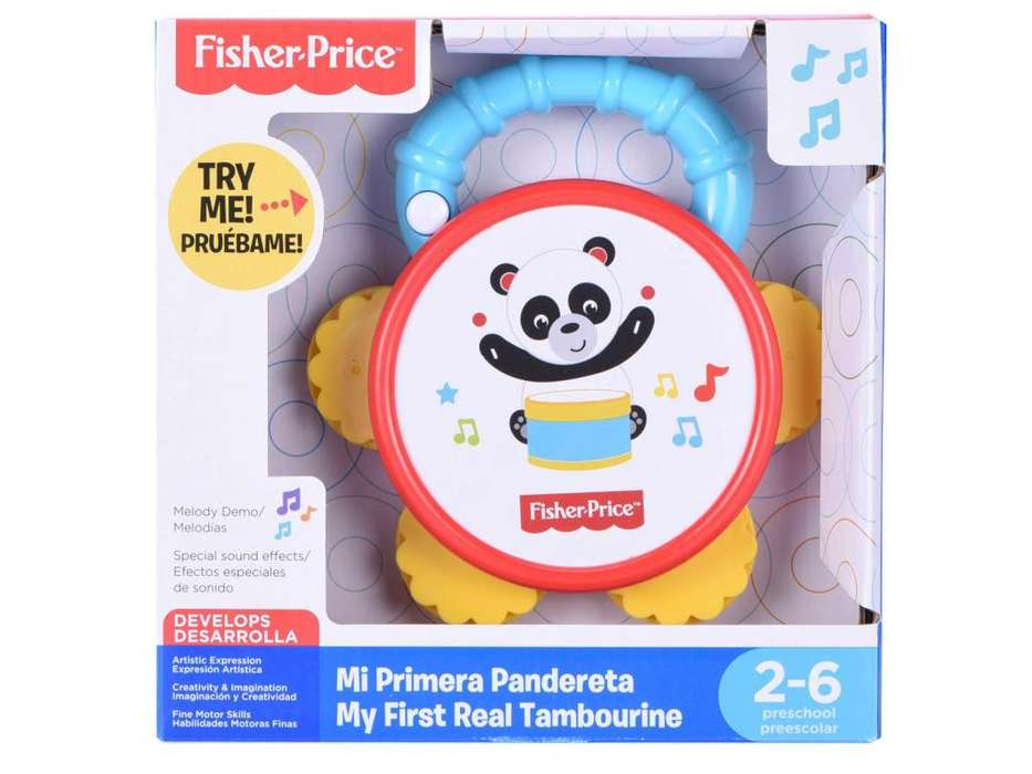 Pandereta Fisher Price