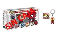 Funko Pop! Llavero Iron Man Sin Caja Estado 09/10