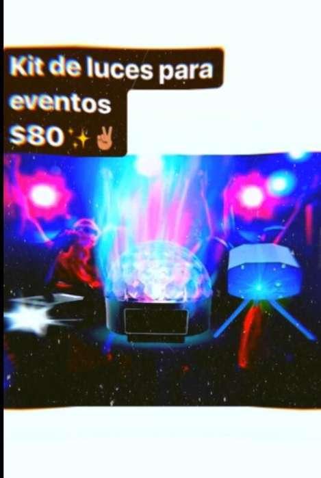 Kit de Luces para Eventos