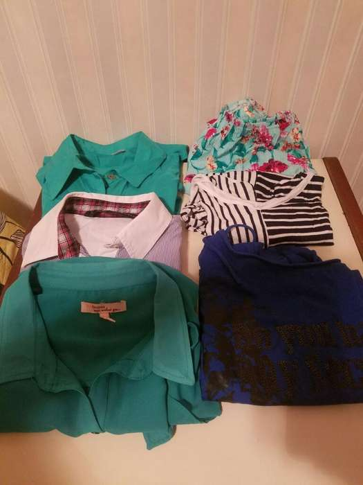 Lote <strong>camisa</strong>s,remeras Y Blusas.pcio Lote