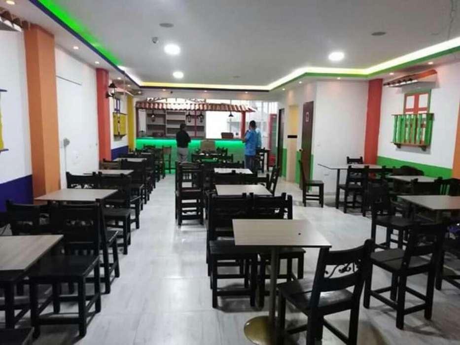 Montaje Restaurante Tipico Paisa