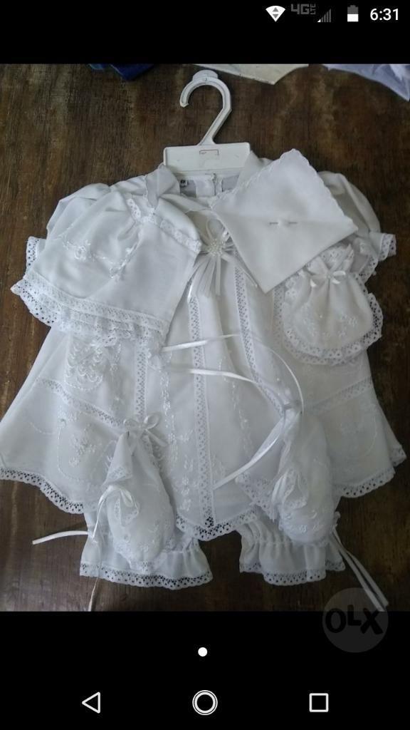 Vestido de Bautizo para Bebé