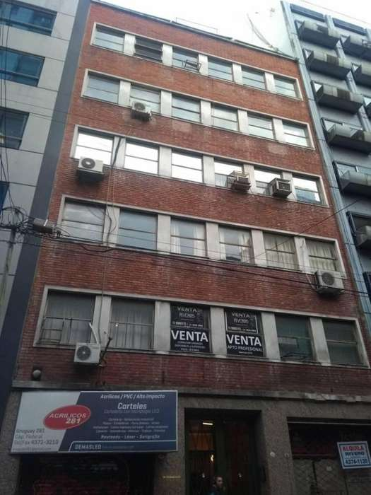 Venta. Edificio en Block. Uruguay 200. NEGOCIABLE.
