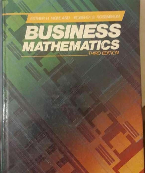 Business Mathematics Matemáticas para Negocios