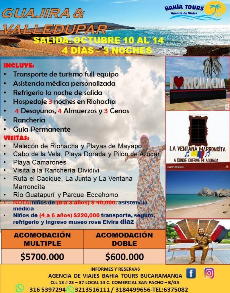 Tour Guajira 10 de Octubre