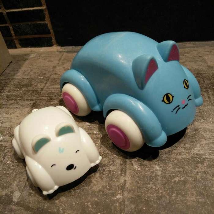 Autito Mascotas para Bebés X 2