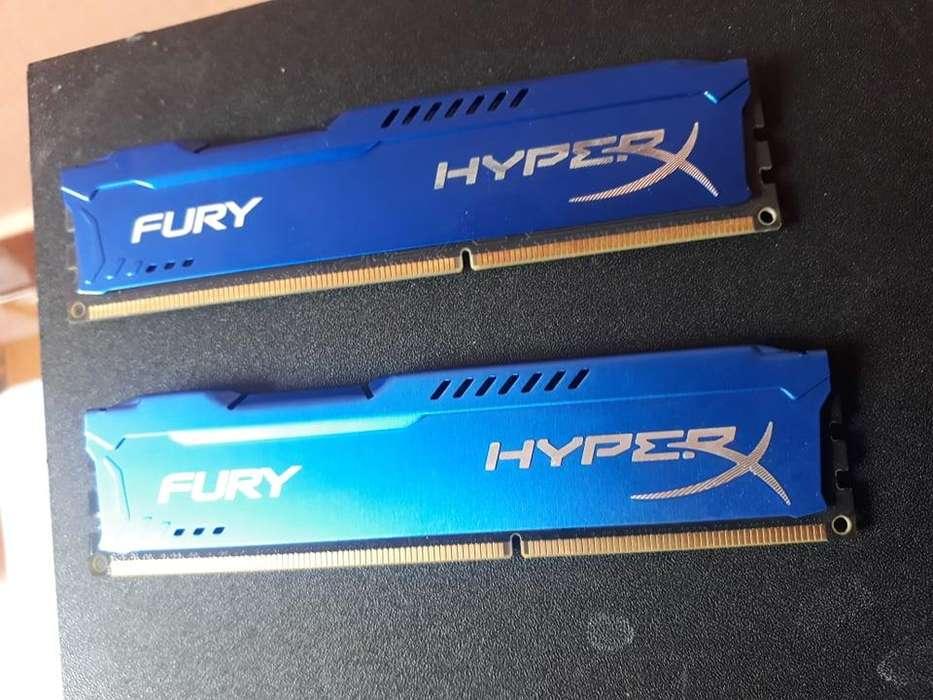 <strong>memoria</strong> Ram Hyperx Fury Ddr3 8gb