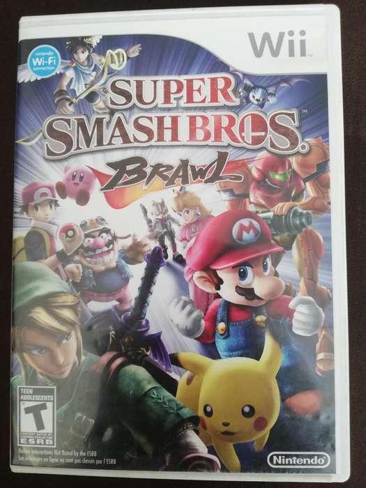Juego Wii Origin Super Smash Bross Brawl