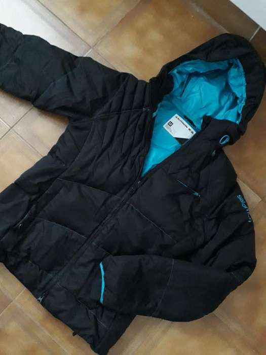 Campera Salomon original Pluma Talle M
