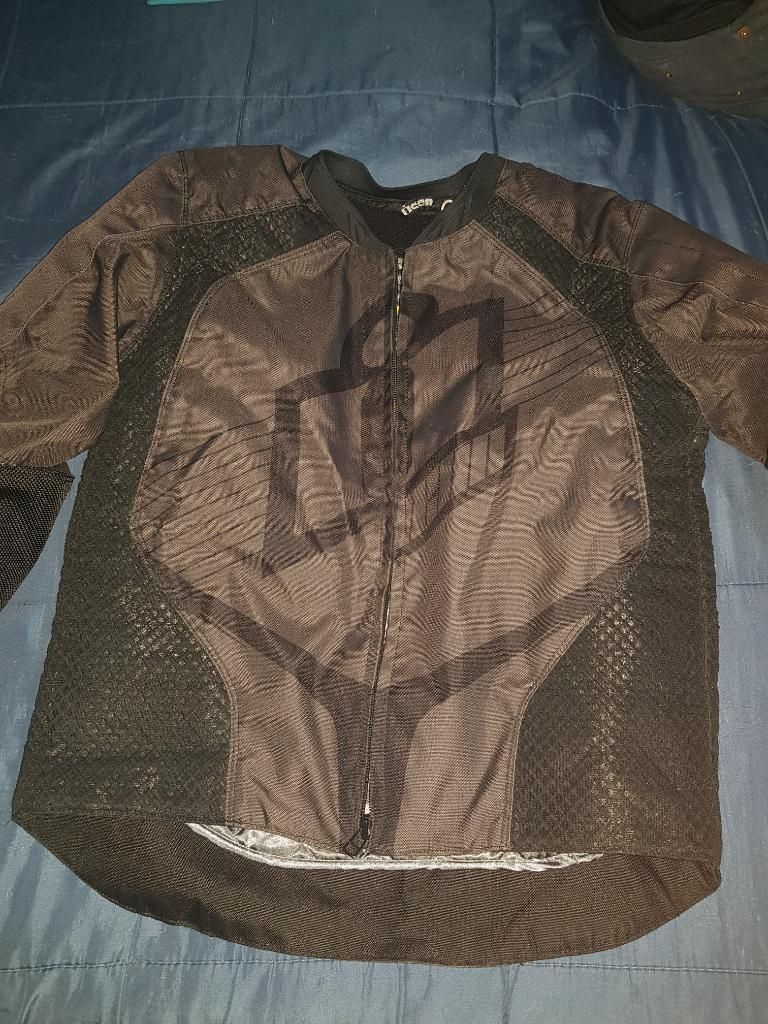 chaqueta icon cuero bogota