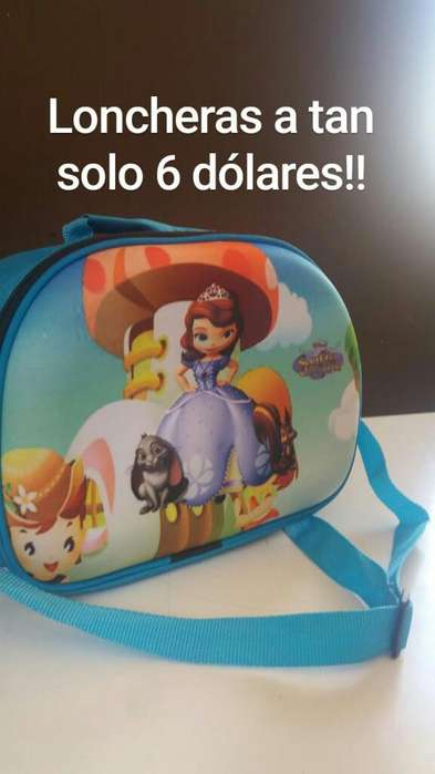 Lindas Loncheras Infantiles Ecónomicas!!