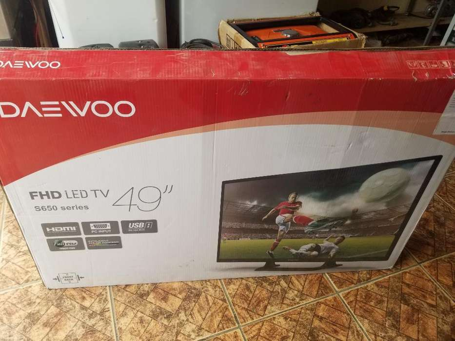 Tv Led Daewoo de 49 Pulgadas