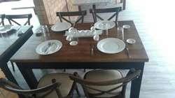 Camas Mesas Y Sillas para Restaurantes