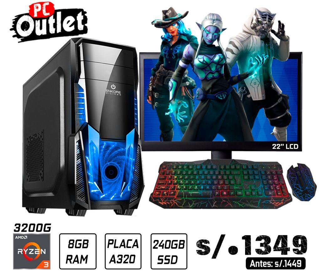 PC GAMING RYZEN 3 3200G 3.6GHz 1349