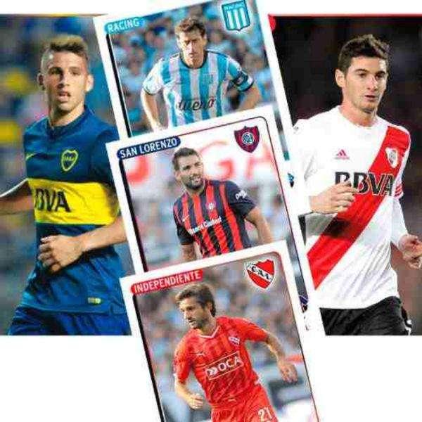 Figuritas Futbol Argentino 2015