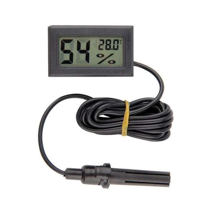 Medidor de Humedad Digital LCD TEMPERATURA INTERIOR TERMOMETRO HIGROMETRO