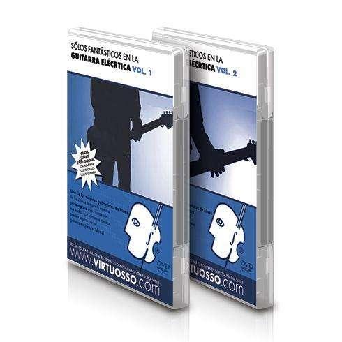 Curso de Solos en la Guitarra Electrica en DVD